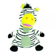iCandy Ziggy Zebra Bluetooth Speaker in Black and White
