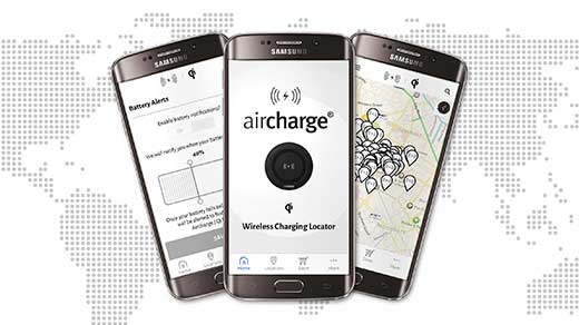 Aircharge - Aircharge Qi Locator App