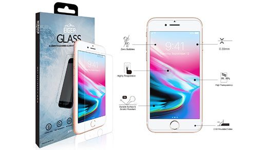 Eiger Glass - Eiger GLASS Tempered Glass Screen Protector