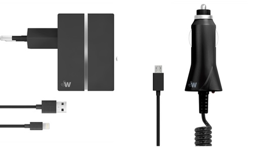 Just Wireless - In-Car and Mains Chargers