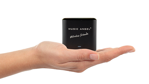 Music Angel - Wireless Friendz – 2 in 1 Bluetooth Speaker and Stereo Receiver
